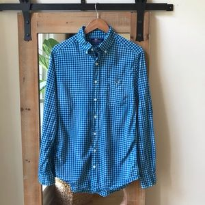 Vineyard Vines Slim Fit Tucker Shirt Blue check